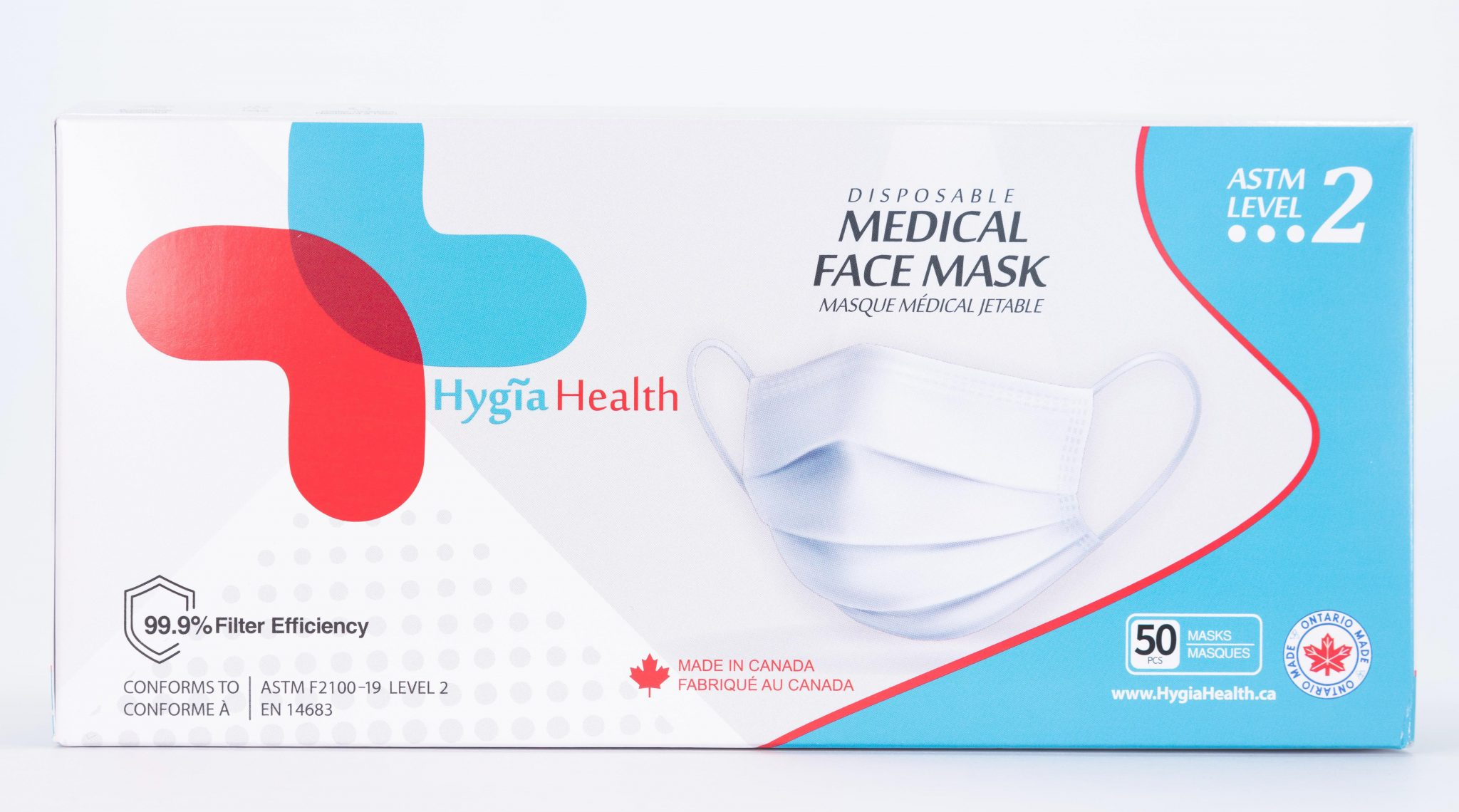 Hygia Health face mask pack