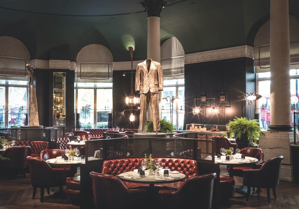 Tom Kerridge at the Corinthia Hotel, London